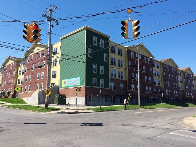 Copper Beech Commons has apartments for roughly 300 students.