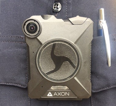 Body-worn cameras like this one will soon be mounted to the uniforms of 90 Syracuse police officers, thanks to a $300,000 state award that allows the department to expand the use of the technology.