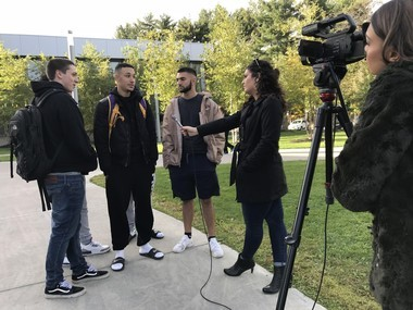 Jason Mercado and a group of his friends speak about their experiences with racism, and their thoughts on the upcoming midterm elections.