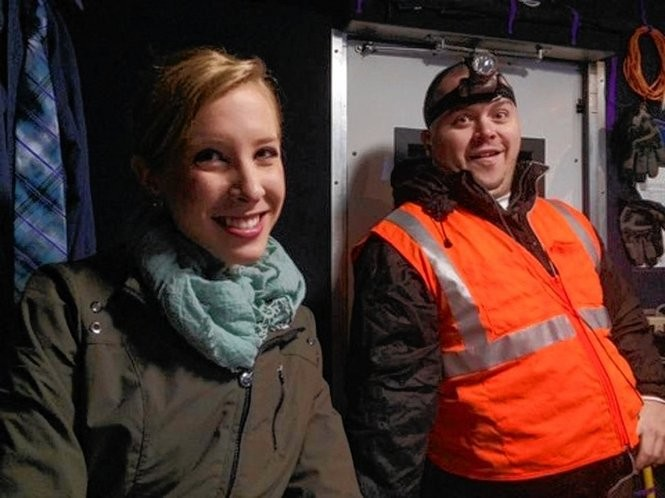 This undated photograph made available by WDBJ-TV shows reporter Alison Parker, left, and cameraman Adam Ward. Parker and Ward were fatally shot during an on-air interview, Wednesday, Aug. 26, 2015, in Moneta, Va. Authorities identified the suspect as fellow journalist Vester Lee Flanagan II, who appeared on WDBJ-TV as Bryce Williams. Flanagan was fired from the station earlier this year.