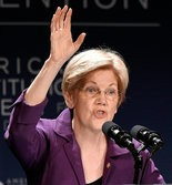 Sen. Elizabeth Warren, D-Mass., speaks at the American Constitution Society for Law and Policy 2016 National Convention, Thursday, June 9, 2016, in Washington. Writer: