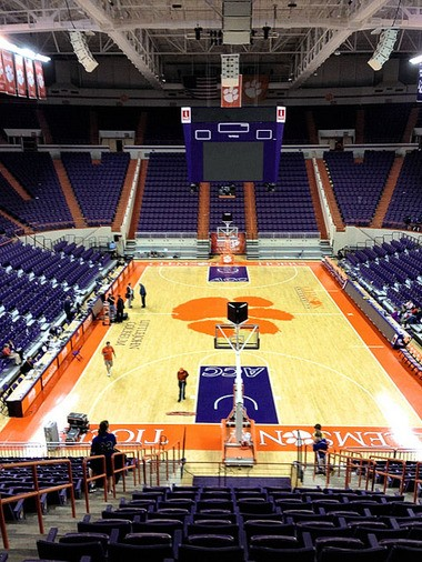 Tyler Cavanaugh made his first visit this week to Littlejohn Coliseum in Clemson, S.C.