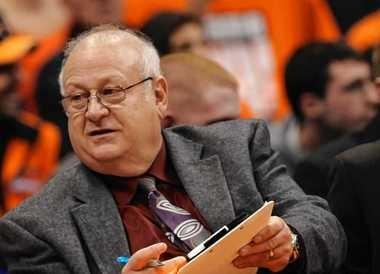Former Syracuse coach Bernie Fine is in Atlanta for the Final Four.
