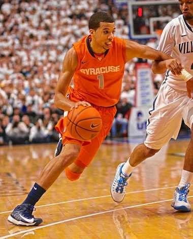 Syracuse guard Michael Carter-Williams averages 12.1 points and 7.4 assists per game.