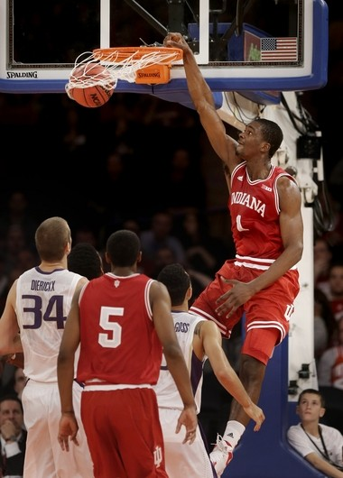 Indiana freshman Noah Vonleh is averaging a double-double for the Hoosiers.