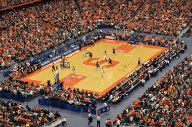 Syracuse drew a big Carrier Dome crowd for its 'rivalry' game with Villanova last December.