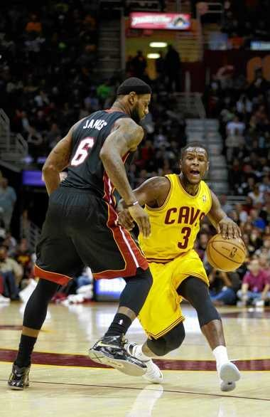 Cleveland Cavaliers guard Dion Waiters will team up with LeBron James in Cleveland this season.