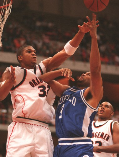 Etan Thomas played at Syracuse from 1996 to 2000. He remains the school's all-time leader in blocked shots.