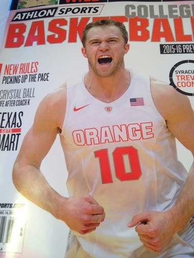 Athlon magazine predicts that Syracuse and Trevor Cooney will finish 8th in the ACC.