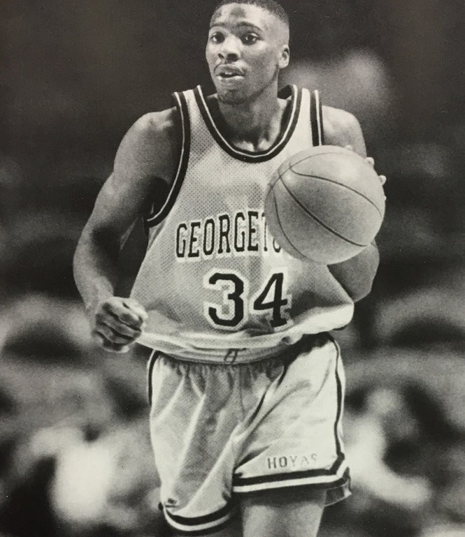 Matt Morgan's father, Lamont Morgan, played for Georgetown from 1990-94.
