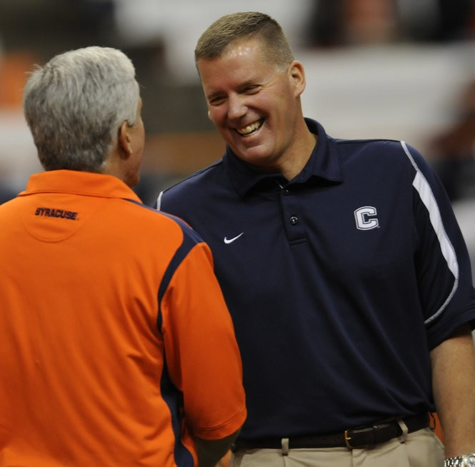 Syracuse hired Greg Robinson after the 2004 season, whose disastrous four-year tenure coincided with UConn's rise under Edsall.