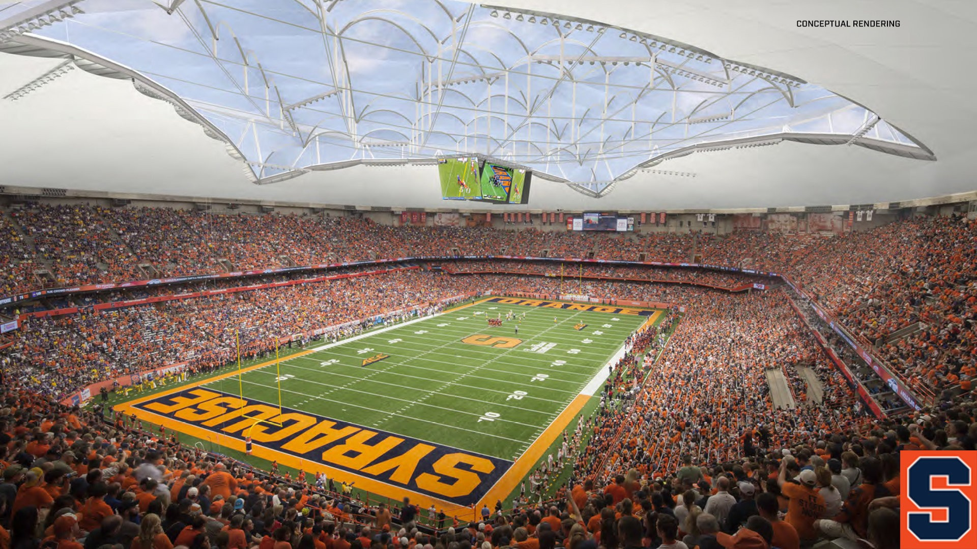 Syracuse S 118 Million Carrier Dome Renovations To Include