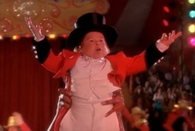 """Michu Meszaros appeared in """"Big Top Pee-wee"""" as a circus performer."""