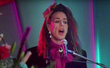 Alexis Arquette played a Boy George impersonator in Adam Sandler's 'The Wedding Singer.'
