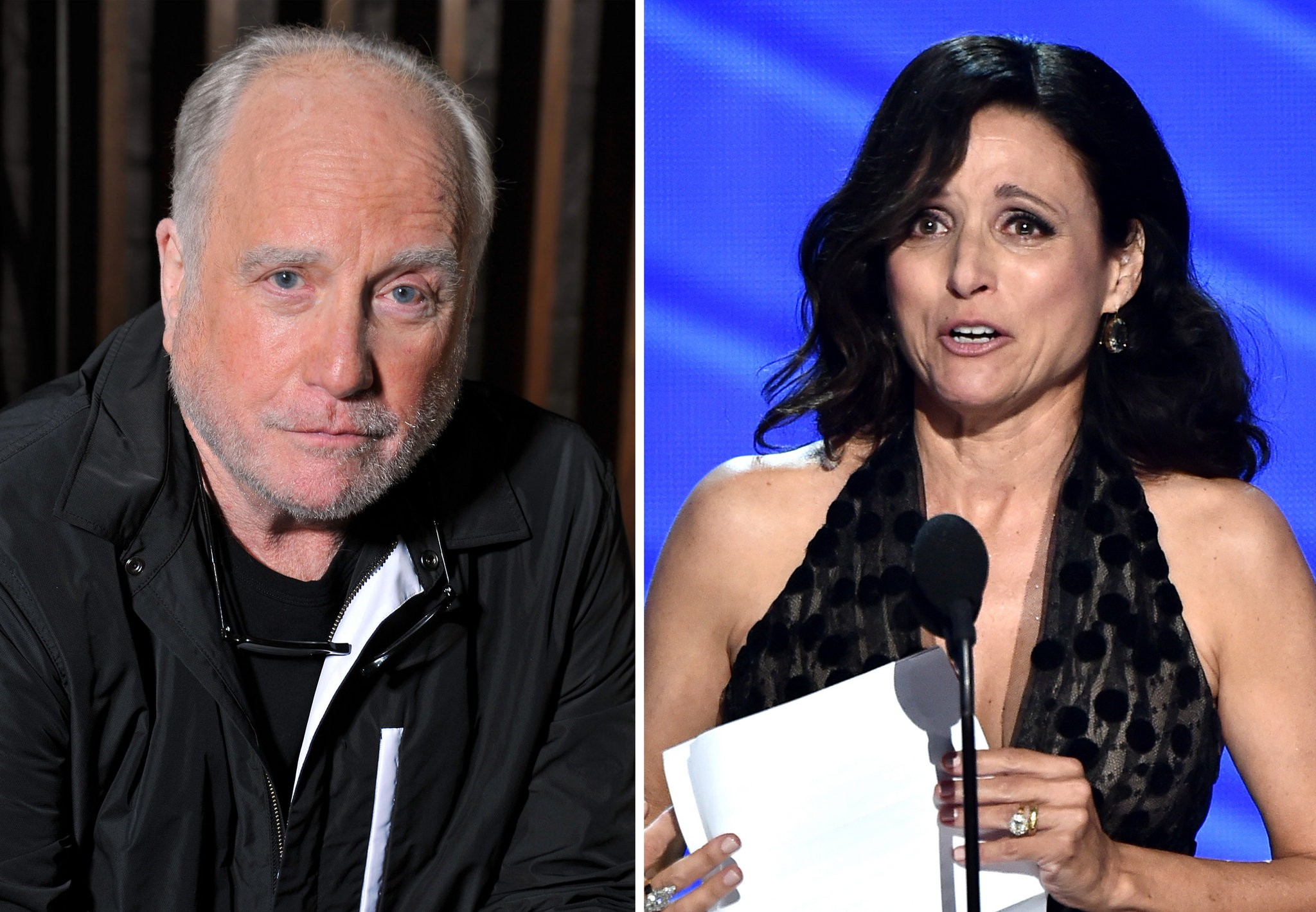 Julia Louis Dreyfus Ever Been Nude dreyfuss mistaken for jld's dad; actor quits scientology