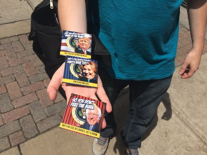 Donald Trump cereal  Hillary Clinton condoms  See 5 wild finds at ... a41d57419