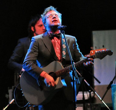 Steven Page, shown here at the Westcott Theater in 2010, will perform live at Rusty Rail in Canastota for a local family's cancer benefit.