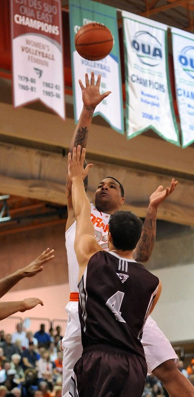 Syracuse center Dajuan Coleman struggled in the Orange's first three games in Canada, but he had 26 points against Ottawa on Saturday. Stephen D. Cannerelli   scannerelli@syracuse.com