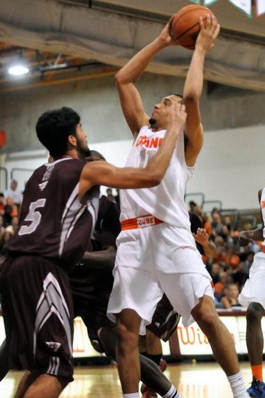Syracuse freshman Tyler Ennis played well during the Orange's trip to Canada. Stephen D. Cannerelli   scannerelli@syracuse.com