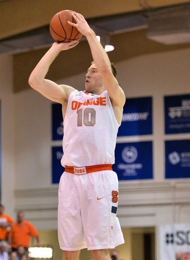 Syracuse guard Trevor Cooney made 11 out of 24 3-pointers during the Maui Invitational.