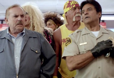 """Radio Shack says """"The '80s called"""" in its 2014 Super Bowl commercial."""