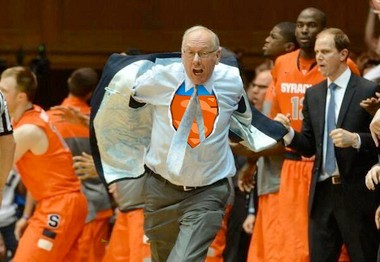 Jim Boeheim's ejection from Syracuse's game at Duke set the Internet in motion and led to some creative memes. Take a look at some of the fun people had with Photoshop.