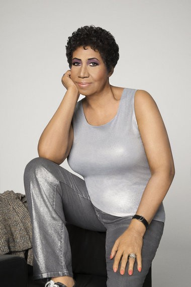Photograph of Aretha Franklin taken in Detroit, Mich. on April 7, 2014.