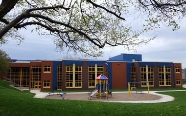 Dr. Weeks Elementary School exterior, 710 Hawley Ave. Syracuse, Friday April 22, 2016.