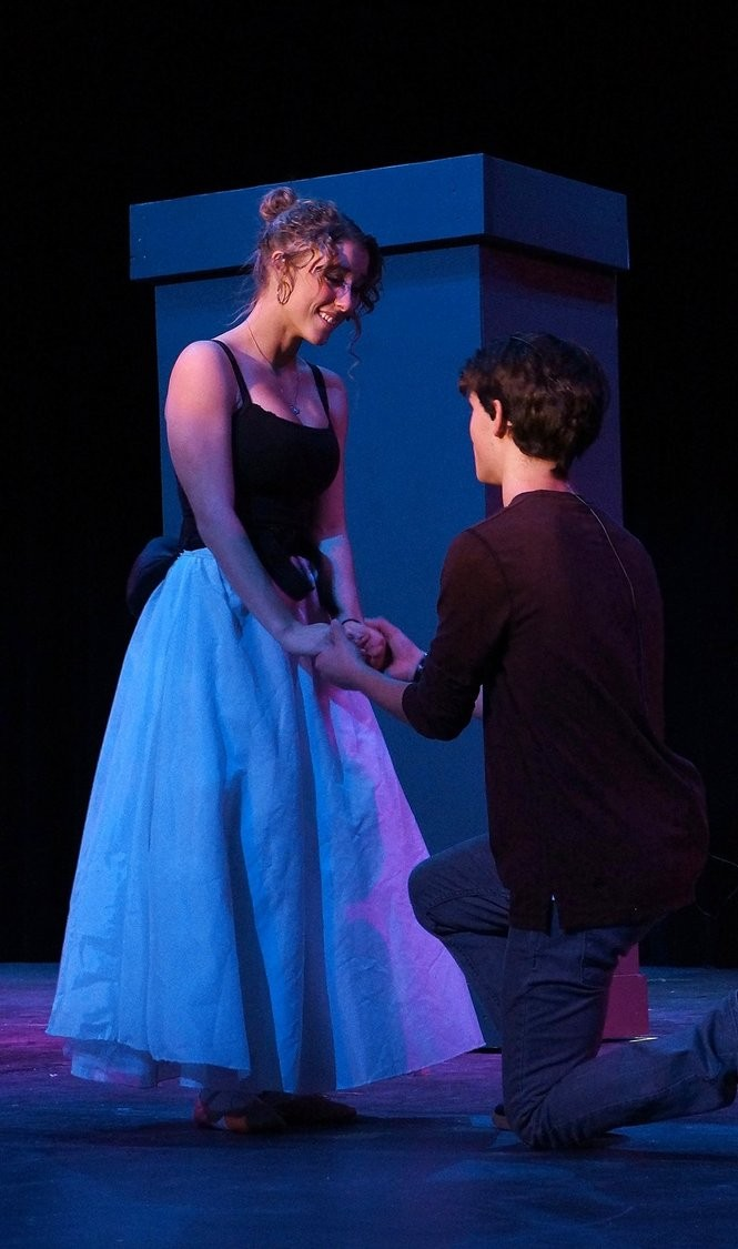 """Fayetteville-Manlius students rehearse for """"The Phantom of the Opera."""""""