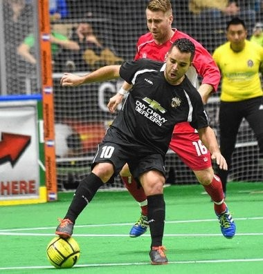 The Syracuse Silver Knights' Neto is coming off a game in which he scored seven goals against the Harrisburg Heat.
