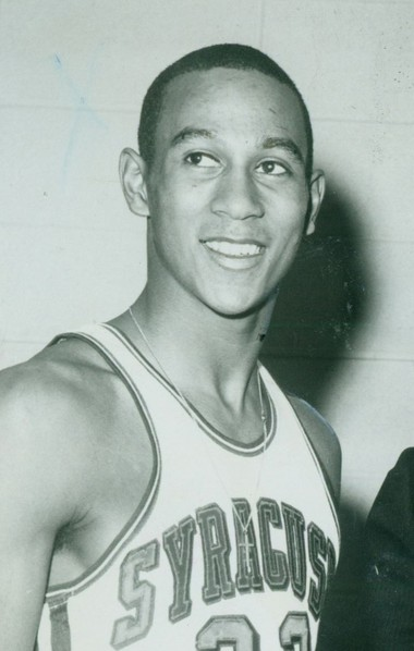 This archive photo shows former Syracuse basketball player Dave Bing, who was on the 1996 list of the 50 Greatest Players in NBA History.