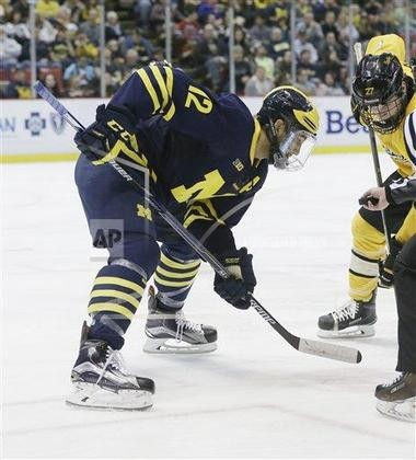 Boo Nieves of Baldwinsville produced 31 points for Michigan this season.