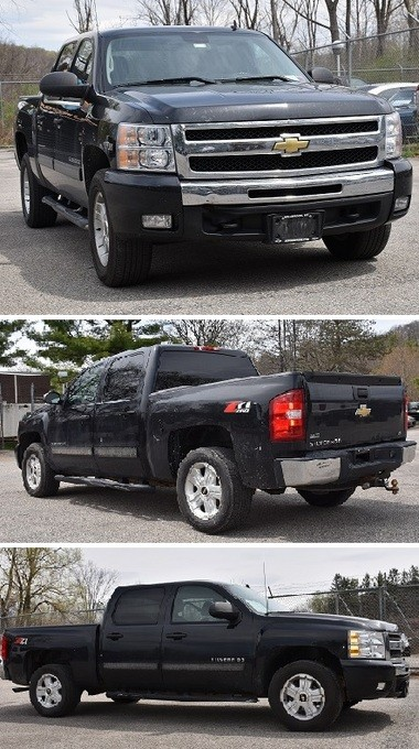 New York State Police said William Martini IV was operating the pictured 2010 black Chevrolet Z71 Pick-up truck.