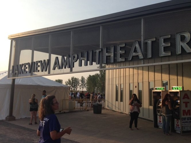 The Lakeview Amphitheater opened Thursday, Sept. 3. Photo by Katrina Tulloch.