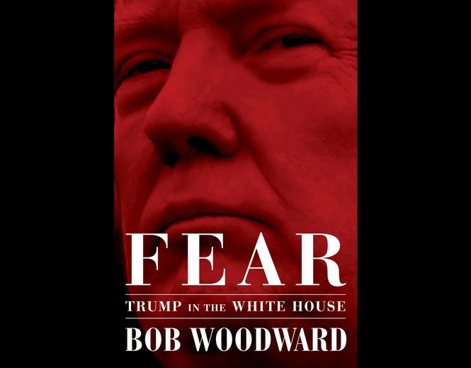 """This image released by Simon & Schuster shows """"Fear: Trump in the White House,"""" by Bob Woodward, available on Sept. 11."""