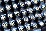 Onondaga Historical Association (OHA) has collected over 80 typewriters manufactured in Syracuse or Central New York. This is a detail photo of the Smith Premier Bilingual typewriter with the Russian alphabet.