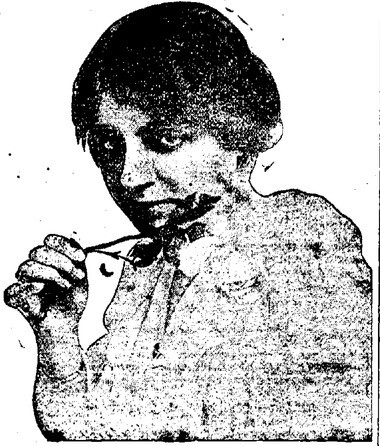 Actress Rita Knight in 1919, about a year after she married George Crouse