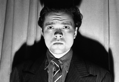 Radio and stage actor Orson Welles.