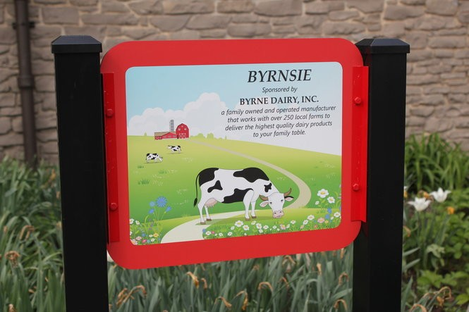 Byrne Dairy has a five-year partnership with the zoo