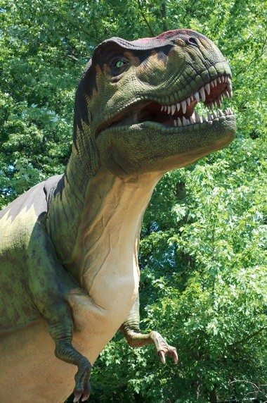 40-foot-long T. Rex will be among the dinosaur displays at the zoo.