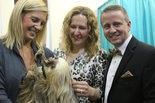 Snow Leopard Soiree guests met Arana the sloth at last year's gala