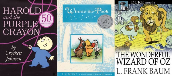 You may be surprised to learn that classic children's books such as Harold and the Purple Crayon, Winnie-the-Pooh and The Wonderful Wizard of Oz have been challenged or banned over the years.