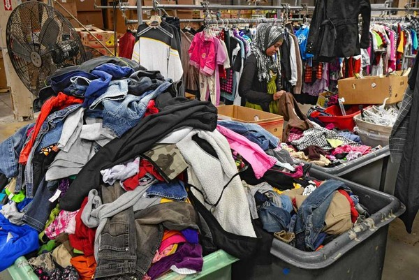 fbe8aa8cd682 Bin battle: Your old clothes are worth millions to the Rescue ...