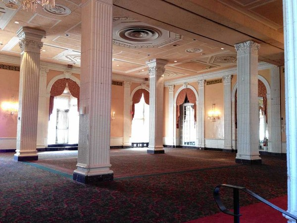 The Persian Terrace room was a popular location for weddings and other events for many decades at the Hotel Syracuse. The room is to be restored as part of developer Ed Riley's planned $57 million renovation of the historic hotel.