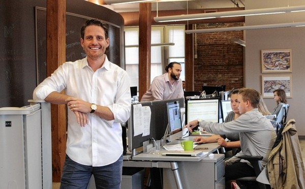 Patrick Danial, co-founder and chief technology officer of Terakeet, stands in the company's office on South Clinton Street, at the edge of Armory Square. He sees Central New York's higher-education system as an advantage of a Syracuse location. He said: